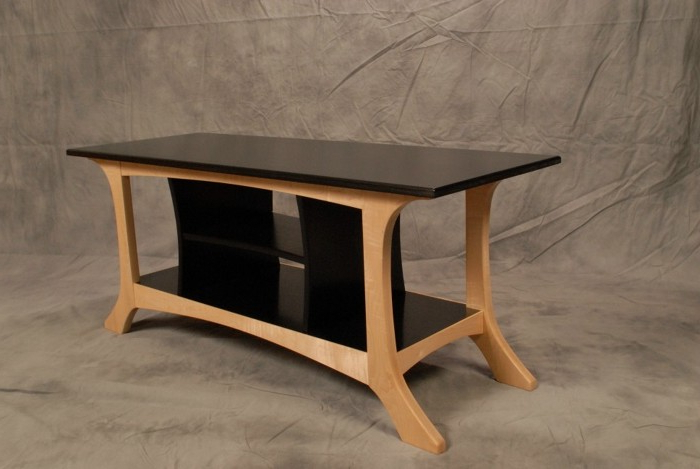 Wide Screen Tv Stands With Current Black And White Wide Screen Tv Stand – Finewoodworking (View 12 of 20)
