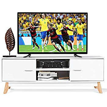 Widely Used Amazon: Festnight Modern Tv Stand Media Console Table With 2 Within Rowan 45 Inch Tv Stands (View 20 of 20)