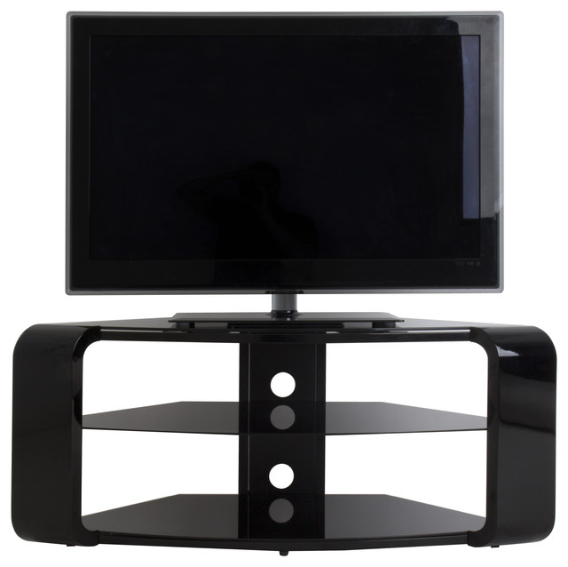 "Widely Used Como Tv Stands Within Como Tv Stand, Tvs Up To 55"", Gloss Black – Contemporary (View 19 of 20)"