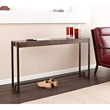 Widely Used Gunmetal Media Console Tables Throughout Amazon: Holly & Martin Macen Media Console Table, Burnt Oak With (View 20 of 20)