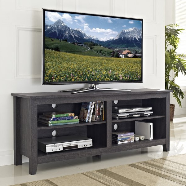 Widely Used Home Loft Concept Tv Stands Regarding Weathered Gray Tv Stand (View 17 of 20)