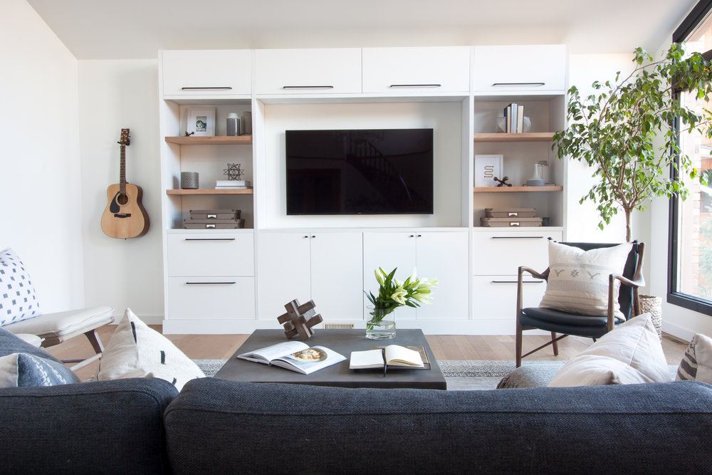 Widely Used Ikea Built In Tv Cabinets Inside The Ultimate Guide To Decorating A Tv Wall — Jessica Devlin Design (View 20 of 20)