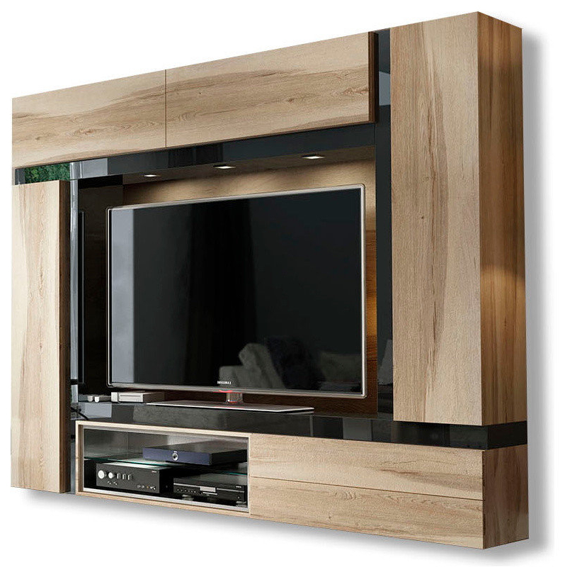 Widely Used Kilian Grey 74 Inch Tv Stands Regarding Tv Stands With Hutch You'll Love (View 15 of 20)