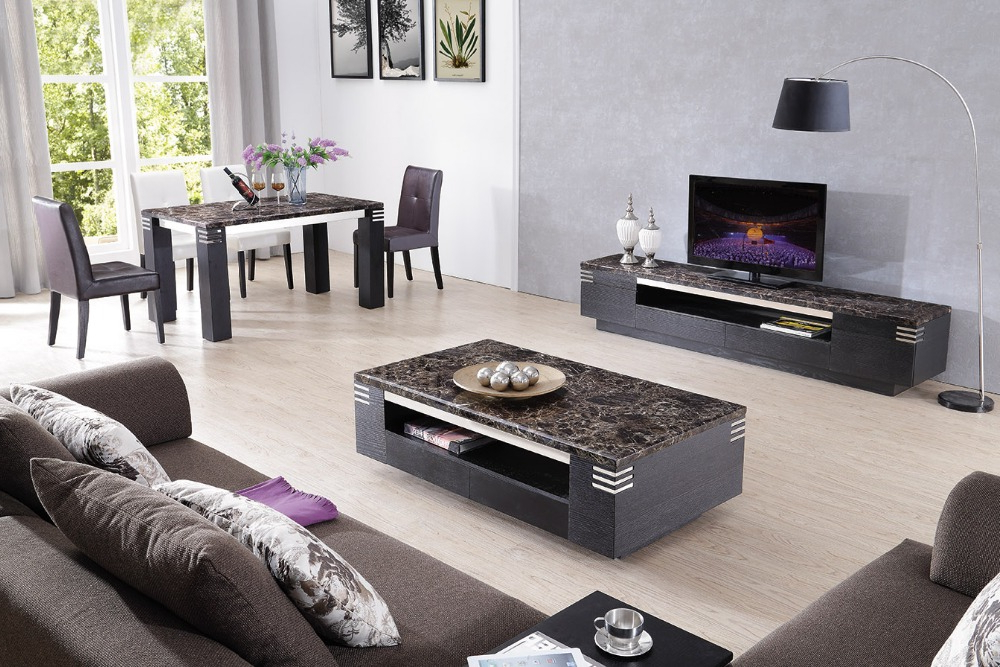 Widely Used Lizz Black Living Room Furniture Tv Stand And Coffee Table Tv With Regard To Tv Cabinets And Coffee Table Sets (View 18 of 20)