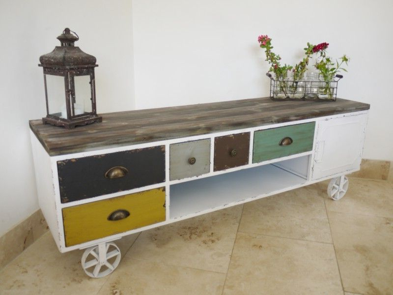 Widely Used Multicoloured Shabby Chic Tv Cabinet Pertaining To Shabby Chic Tv Cabinets (View 20 of 20)