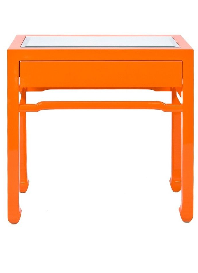 """Widely Used Parsons Concrete Top & Elm Base 48X16 Console Tables Intended For Orange Accessories"""" """"orange Decor"""" """"orange Home Decor"""" """"Orange Home (Gallery 5 of 20)"""