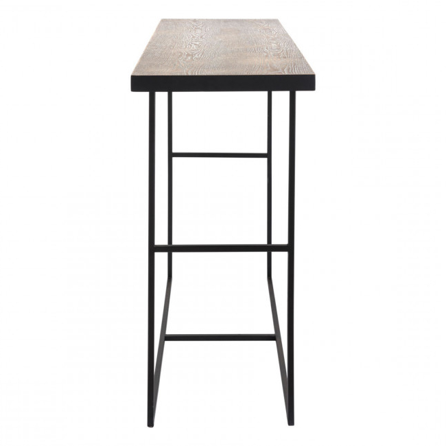 Widely Used Scattered Geo Console Tables Pertaining To A10725 – Forest Console Table Black (Gallery 11 of 20)