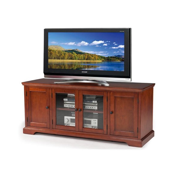 Widely Used Shop Westwood 60 Inch Cherry Hardwood Tv Stand – Free Shipping Today Inside Hardwood Tv Stands (View 20 of 20)