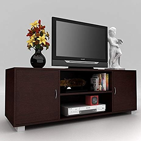 Widely Used Steel Craft Baleno Tv Cabinet (Wenge): Amazon (View 20 of 20)