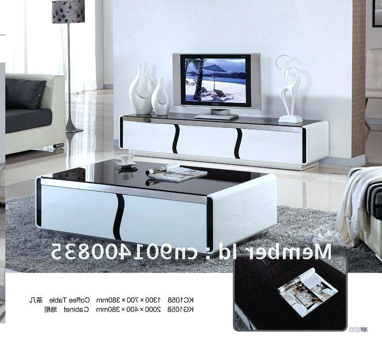 Widely Used Tv Cabinet And Coffee Table Sets Within Tv Stand Coffee Table Set Modern Wood Furniture Tea Cabinet Smart (View 19 of 20)