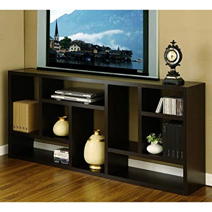 Widely Used Tv Stands And Bookshelf Within Amazon: Tv Stand Is Great Display Cabinet And Bookshelf (View 20 of 20)