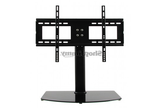 """Widely Used Universal 24 Inch Tv Stands Intended For Universal Tv Stand/base + Wall Mount For 37"""" 55"""" Flat Screen Tvs (View 9 of 20)"""