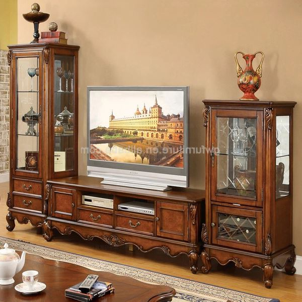 Widely Used Wooden Tv Cabinets Pertaining To Classic Design Tv Cabinet, View Classic Design Tv Cabinet, Product (View 17 of 20)