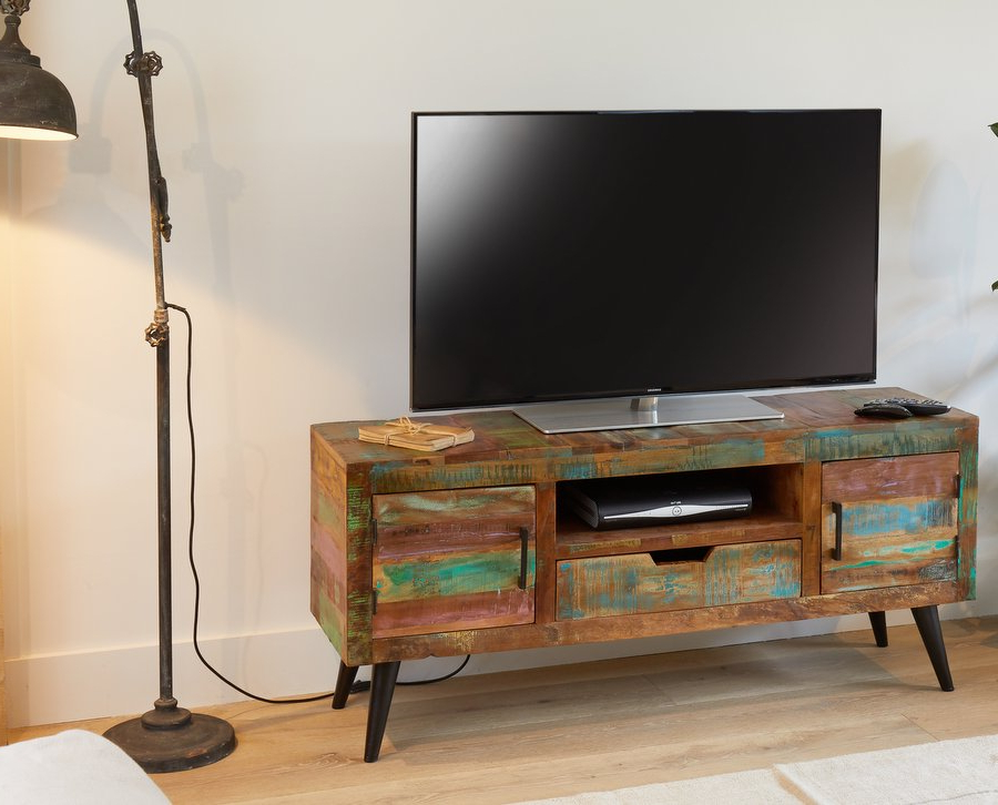 Widescreen Tv Cabinets For 2017 Abdabs Furniture – Coastal Chic Widescreen Tv Cabinet (View 20 of 20)
