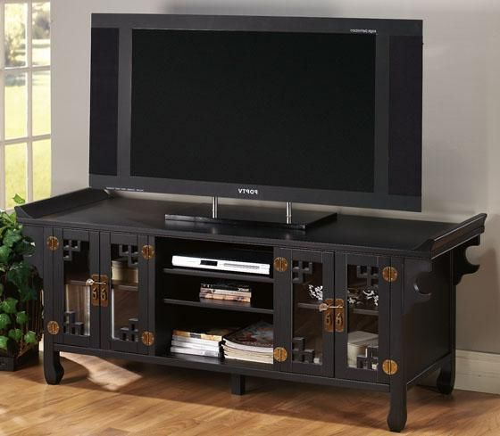 Widescreen Tv Stands Within Latest Wuchow Widescreen Tv Stand With Glass Doors – Tv Stands – Home (View 20 of 20)