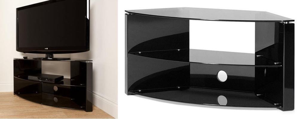 Wood And Glass Designs With Current Compact Corner Tv Stands (View 20 of 20)