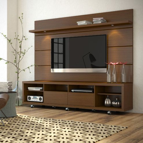 Wood Tv Stands Throughout Well Liked Wooden Tv Stand, Lakdi Ka Tv Stand, Wood Tv Stand, Wood Television (View 16 of 20)