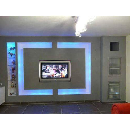 Wooden Led Panel Tv Cabinet, लकड़ी के टीवी की Intended For Most Up To Date Led Tv Cabinets (View 20 of 20)