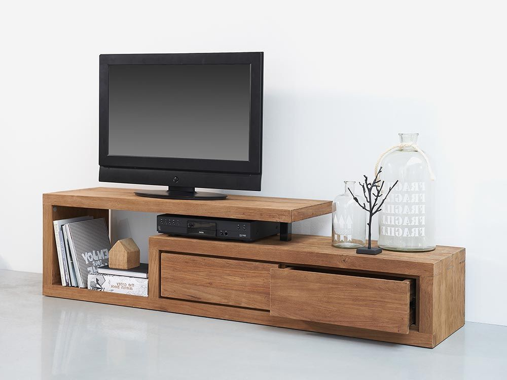 Wooden Tv Cabinets Intended For Most Recently Released 20+ Best Tv Stand Ideas & Remodel Pictures For Your Home (View 17 of 20)