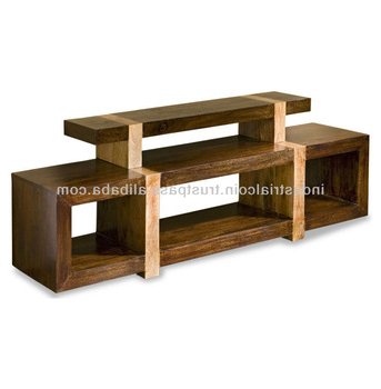 Wooden Tv Stand Media Block Shelf – Buy Drawing Shelf,shelf Edging Intended For Most Recently Released Cheap Wood Tv Stands (View 2 of 20)