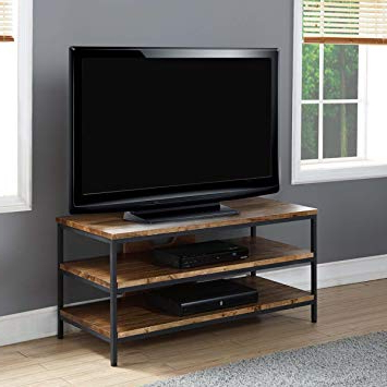 Wooden Tv Stands For 50 Inch Tv Pertaining To Popular Jual Solid Wood Rustic Oak Tv Stand For Up To 50 Inch: Amazon.co.uk (Gallery 6 of 20)