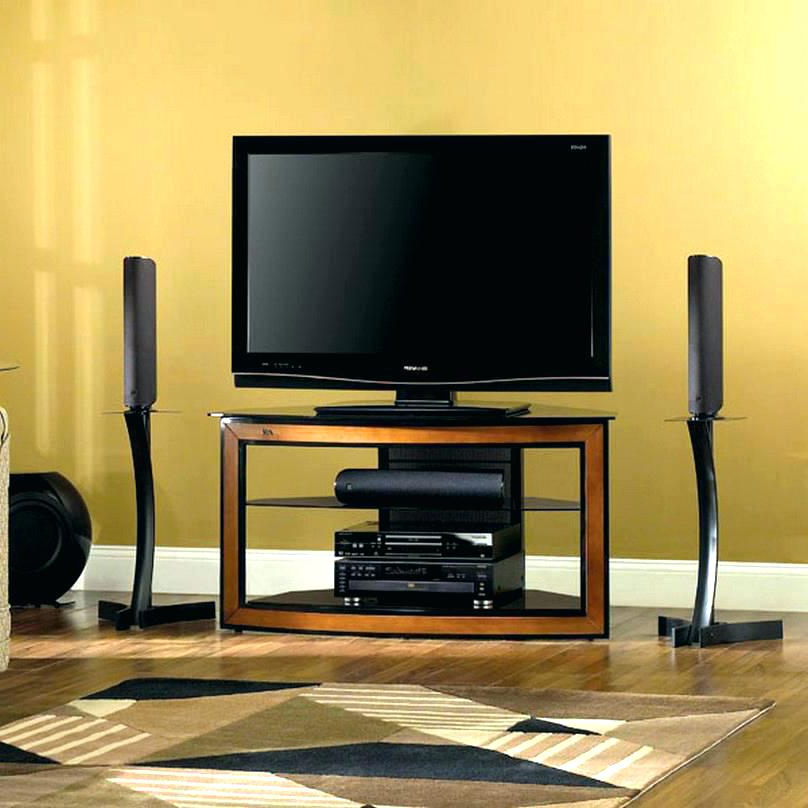 Wooden Tv Stands For 55 Inch Flat Screen With Well Liked Tv Stands 55 Inch Flat Screen Walmart Wood Stand With Mount Corner (View 20 of 20)