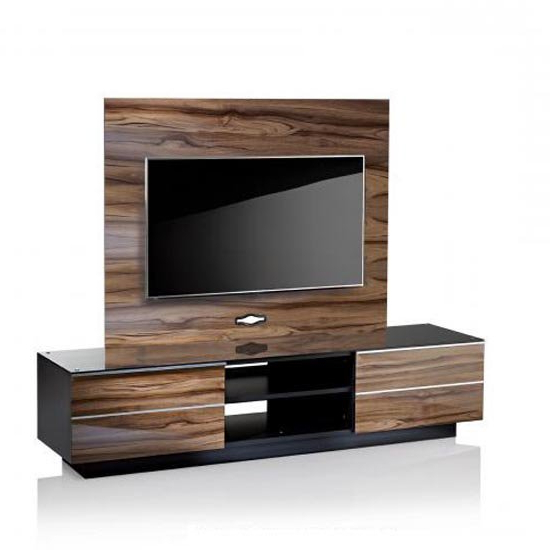 Wooden Tv Stands Intended For 2018 Wood Tv Stands With Glass Top (View 20 of 20)