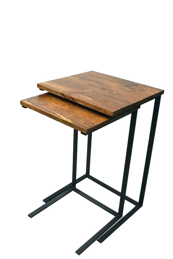 Wooden Tv Trays With Stand Remarkable Folding Tray Table Set With In Famous Folding Wooden Tv Tray Tables (View 11 of 20)