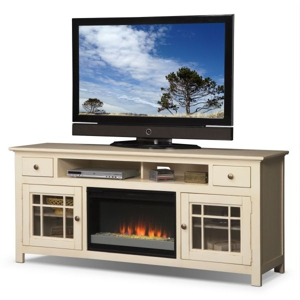 Wyatt 68 Inch Tv Stands Throughout Preferred Modern Electric Fireplace Tv Stand Lowes Images With Regard To (View 18 of 20)