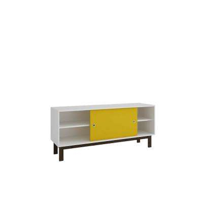 Yellow Tv Stands With Regard To Well Liked Yellow – Tv Stands – Living Room Furniture – The Home Depot (View 5 of 20)