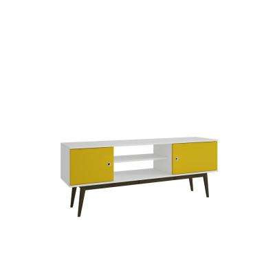 Yellow Tv Stands Within Most Recent Yellow – Tv Stands – Living Room Furniture – The Home Depot (View 20 of 20)