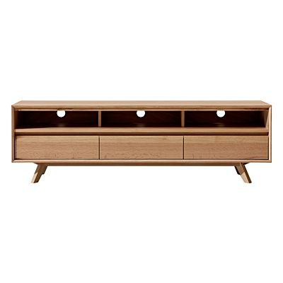Zanui Inside Oak & Brass Stacking Media Console Tables (Gallery 16 of 20)