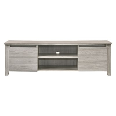 Zanui Inside Trendy Natural Wood Mirrored Media Console Tables (View 20 of 20)