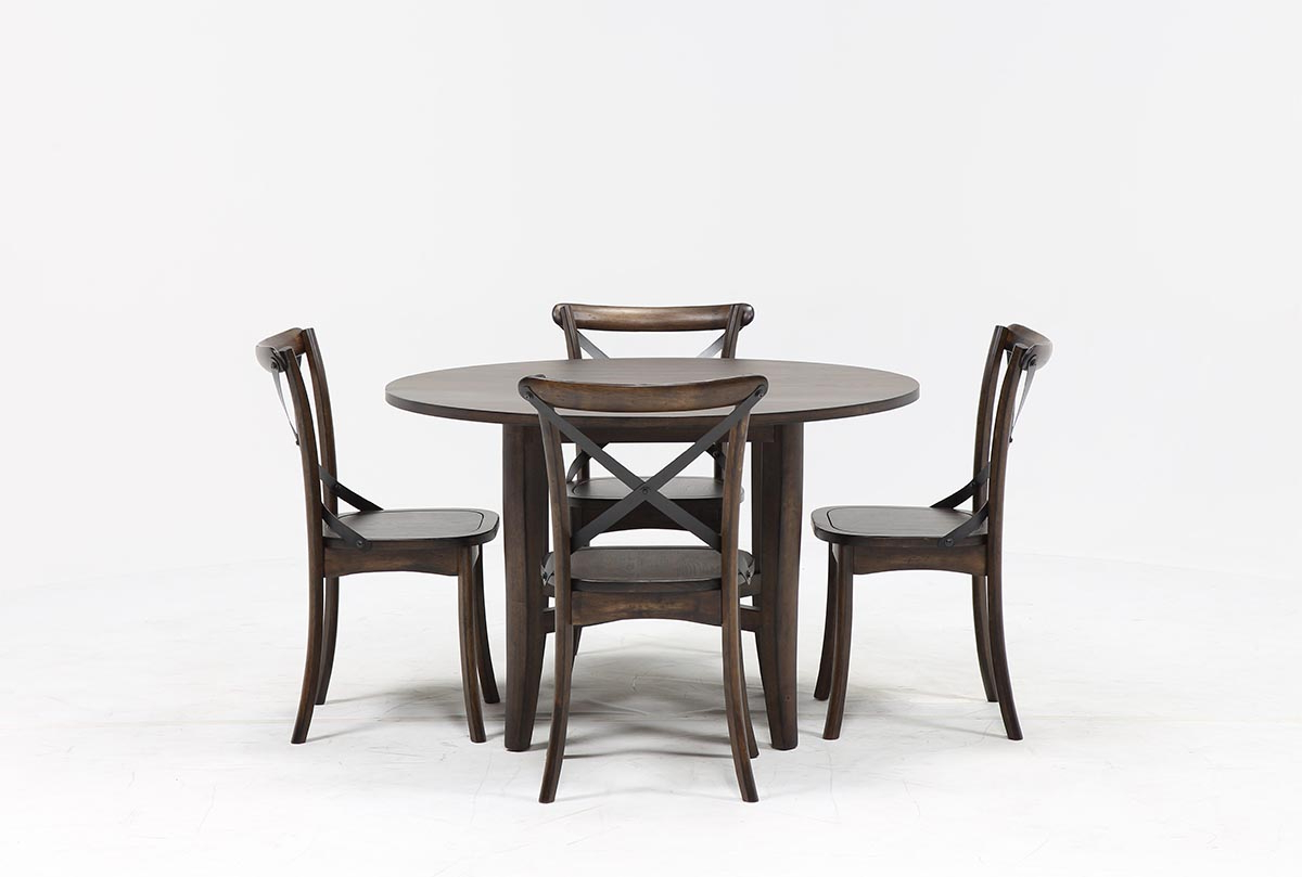 2017 Jarrod 5 Piece Dining Sets Within Grady 5 Piece Round Dining Set (Gallery 19 of 20)