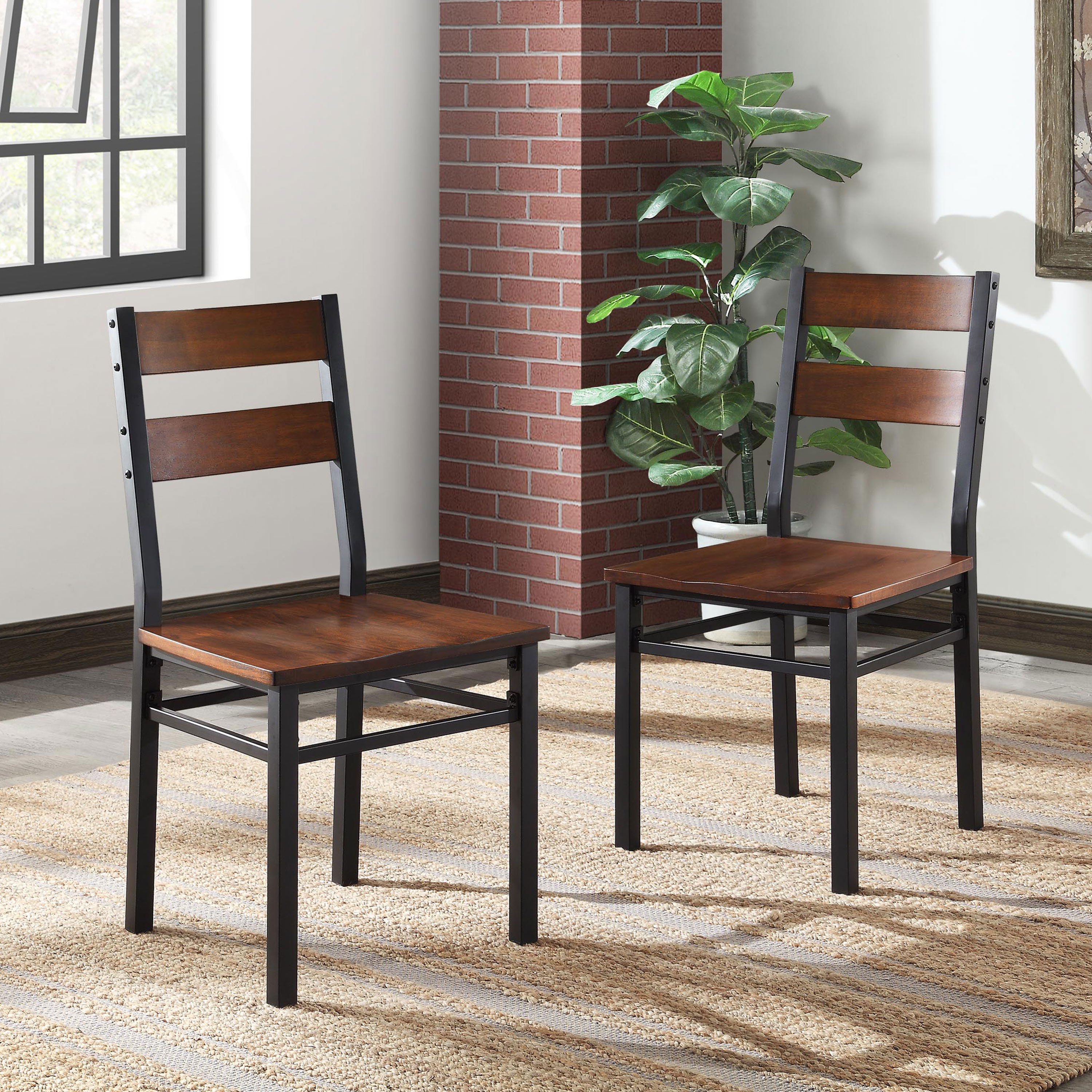 2017 Kitchen & Dining Furniture – Walmart For Moorehead 3 Piece Counter Height Dining Sets (View 18 of 20)