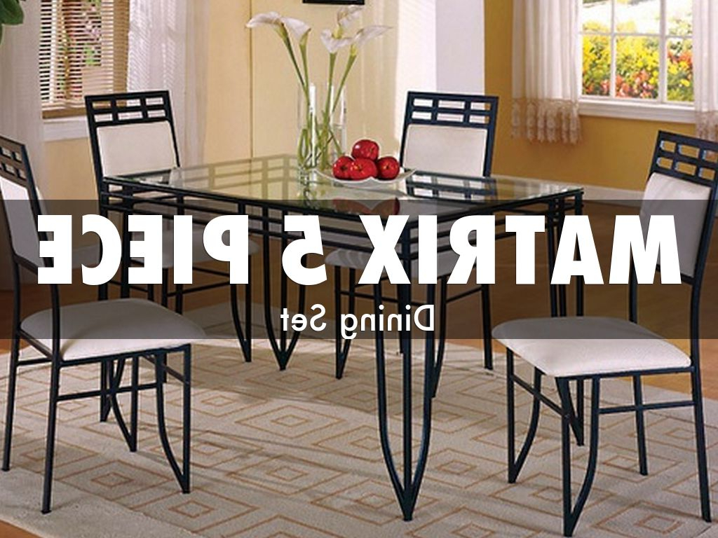 2018 Cargo 5 Piece Dining Sets In American Freight Discount Dining Room Setsamericanf (Gallery 7 of 20)