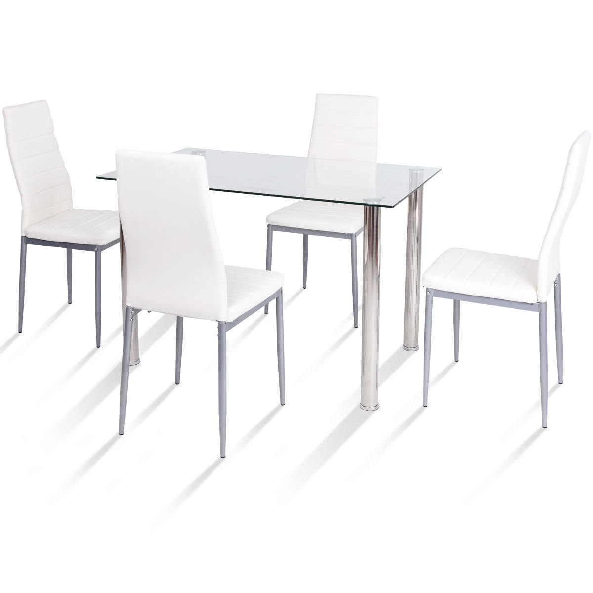 2018 Travon 5 Piece Dining Sets With Travon 5 Piece Dining Set (Gallery 1 of 20)
