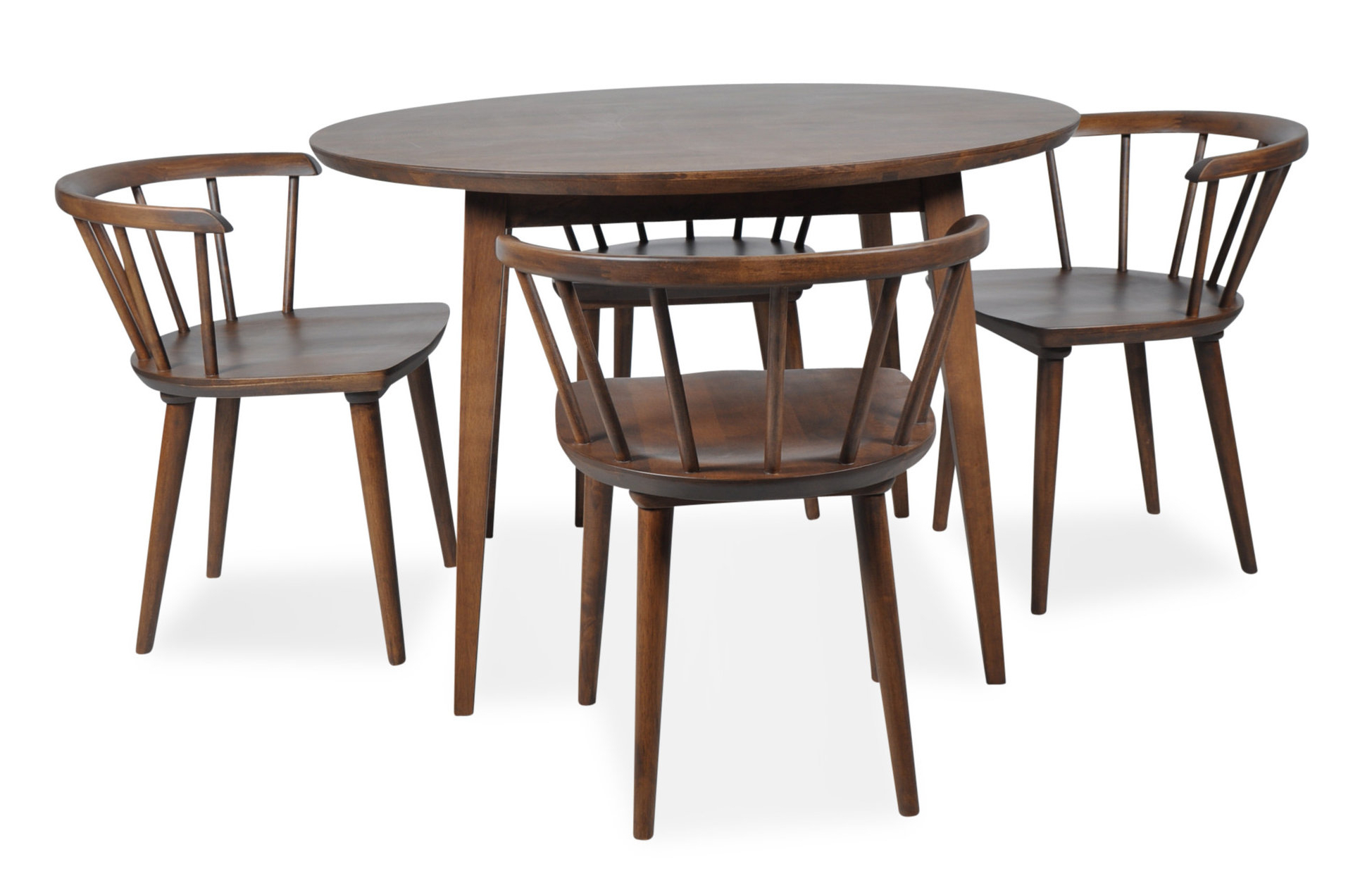 5 Piece Breakfast Nook Dining Sets In Trendy Burgan 5 Piece Solid Wood Breakfast Nook Dining Set (View 4 of 20)