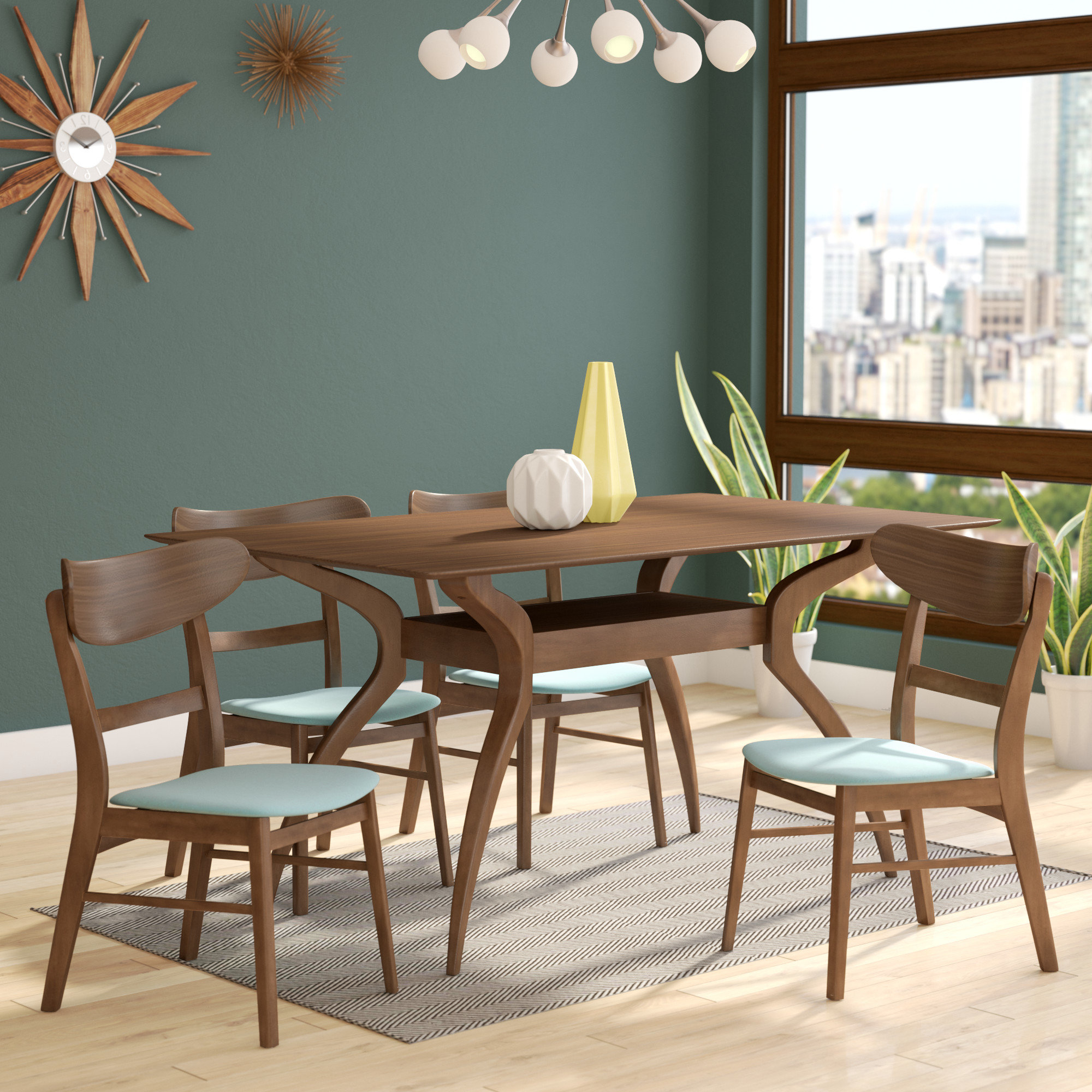 5 Piece Dining Sets Regarding Favorite Patterson 5 Piece Dining Set (View 5 of 20)