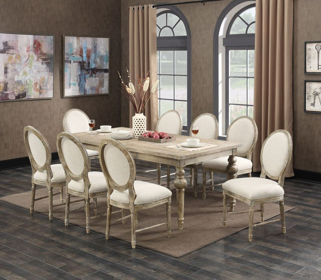 5 Piece Dining Sets Within Well Known Interlude 5 Piece Dining Set (View 8 of 20)