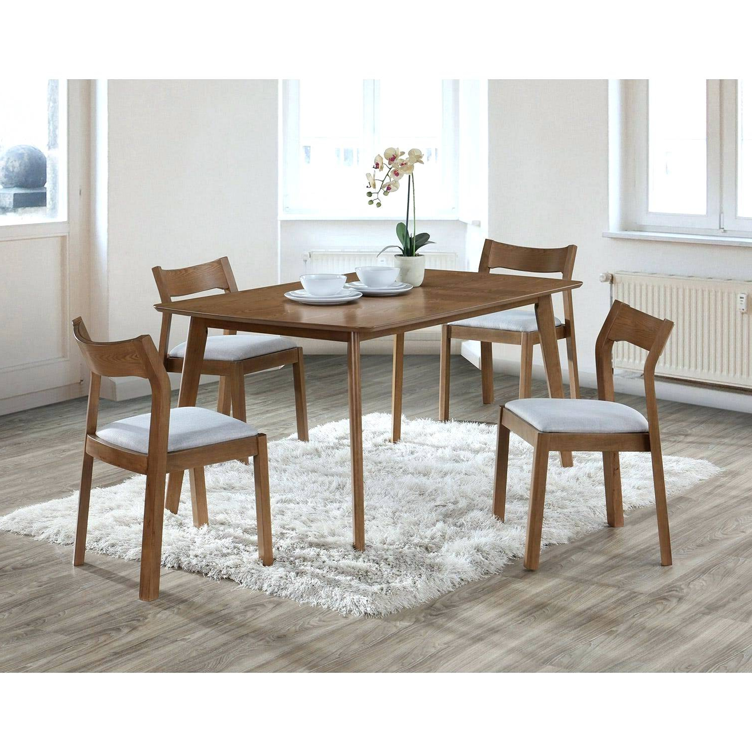 5 Piece Dining Table And Chairs – Heyricky In Fashionable Calla 5 Piece Dining Sets (View 3 of 20)
