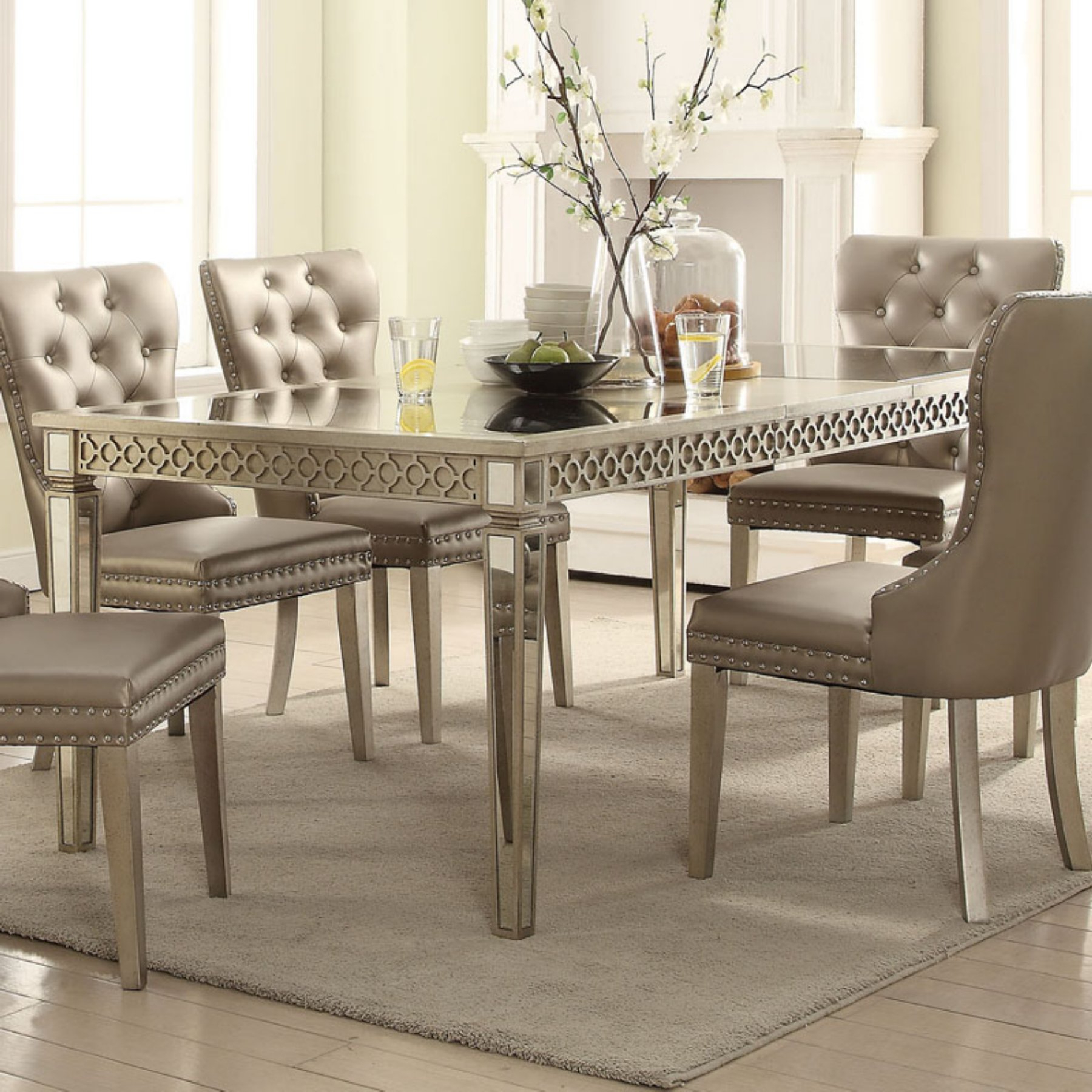 Acme Furniture Kacela Extension Dining Table (Gallery 20 of 20)