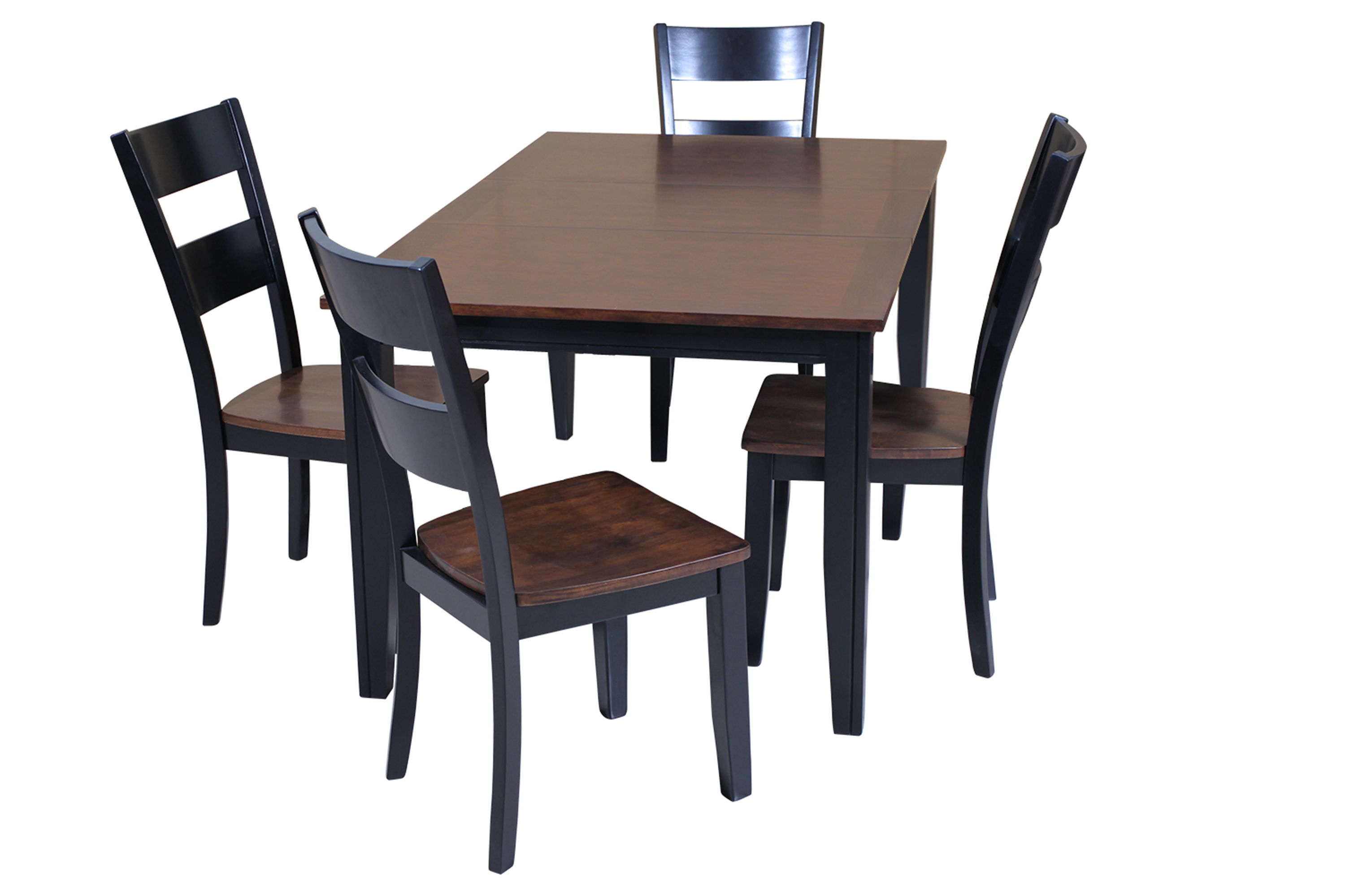 Adan 5 Piece Solid Wood Dining Sets (Set Of 5) Pertaining To Fashionable Ttp Furnish (Gallery 9 of 20)