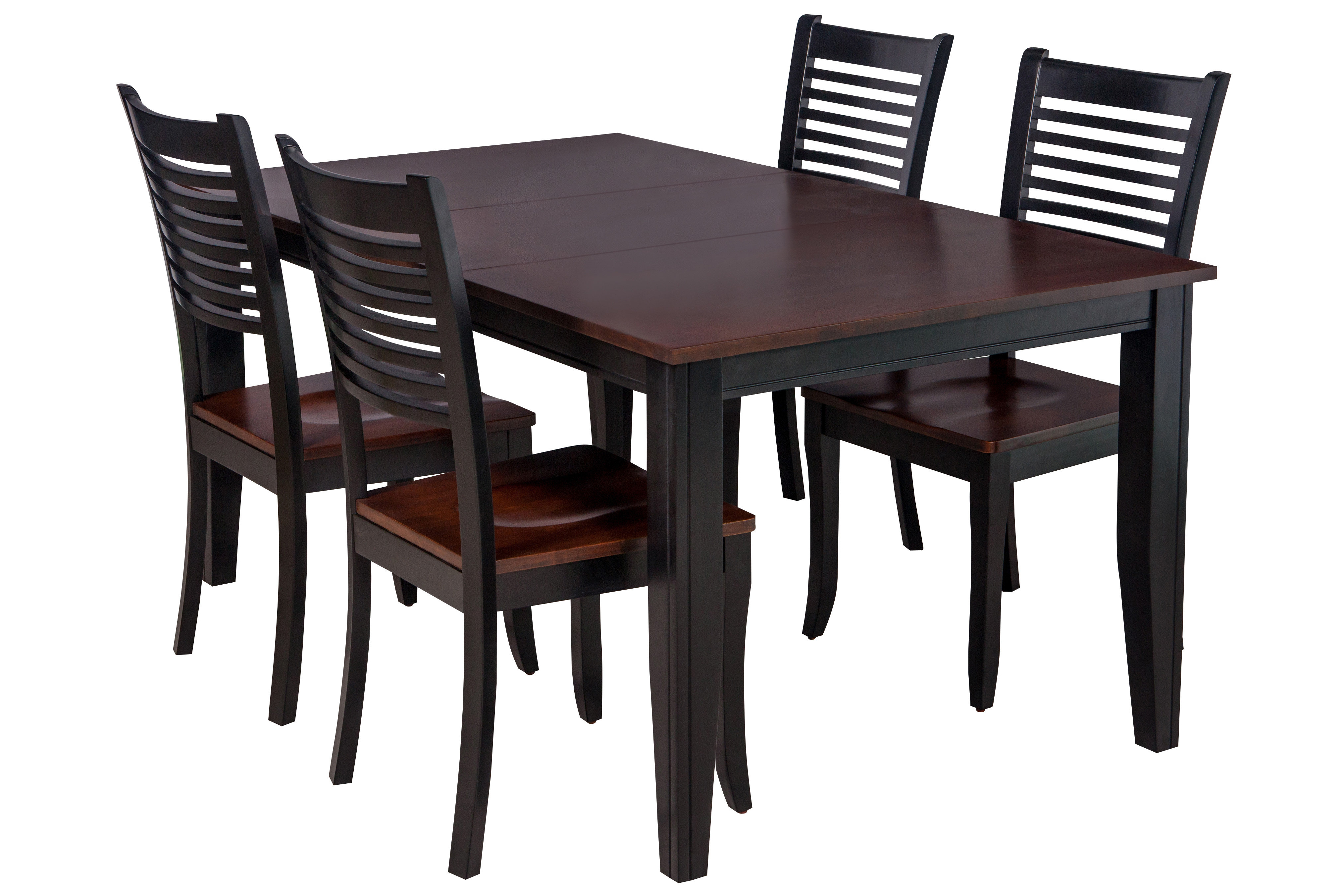 Aden 5 Piece Solid Wood Dining Set With Popular Adan 5 Piece Solid Wood Dining Sets (Set Of 5) (View 12 of 20)