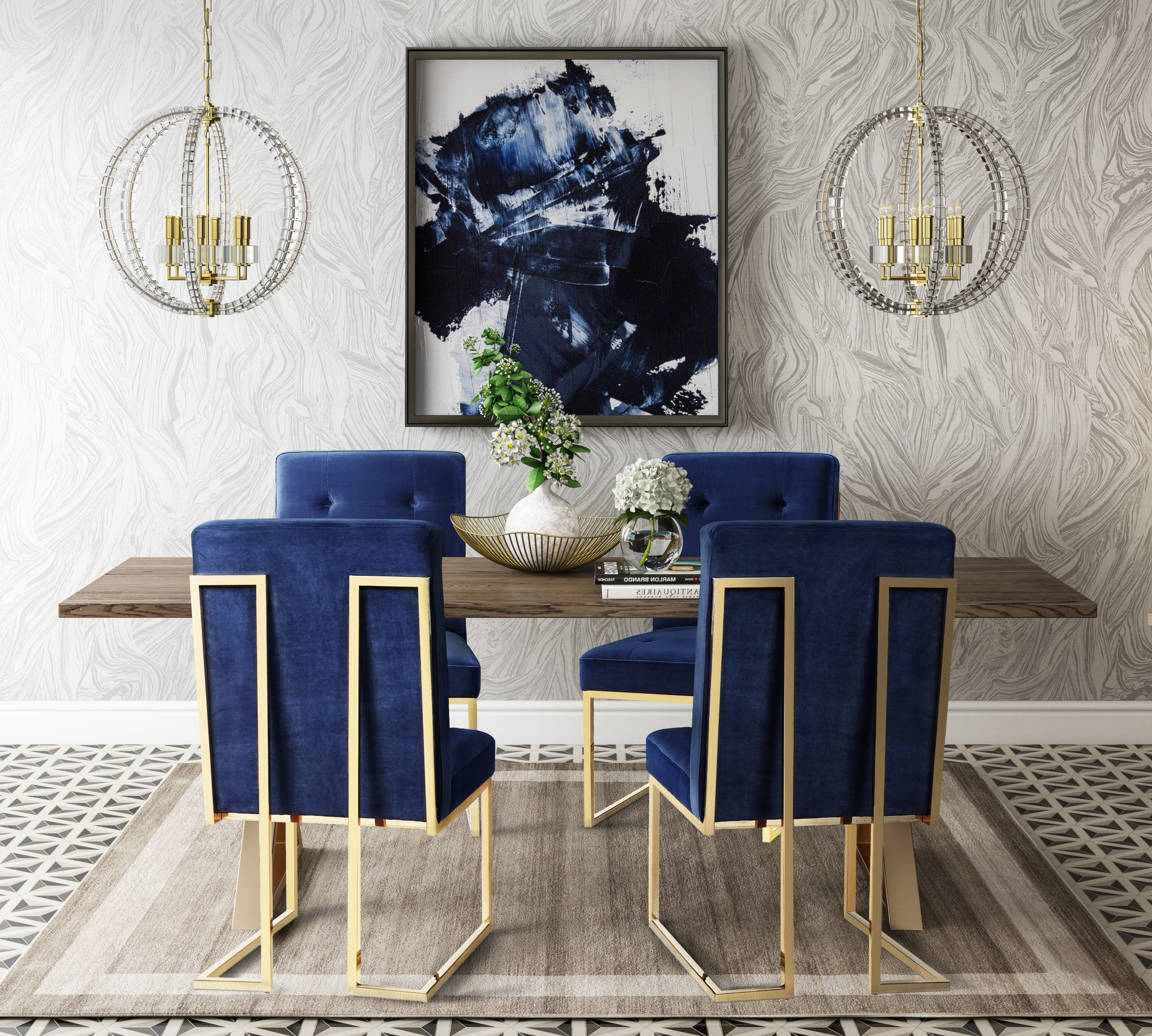 Alvaro 5 Piece Dining Set Inside Fashionable Liles 5 Piece Breakfast Nook Dining Sets (Gallery 11 of 20)