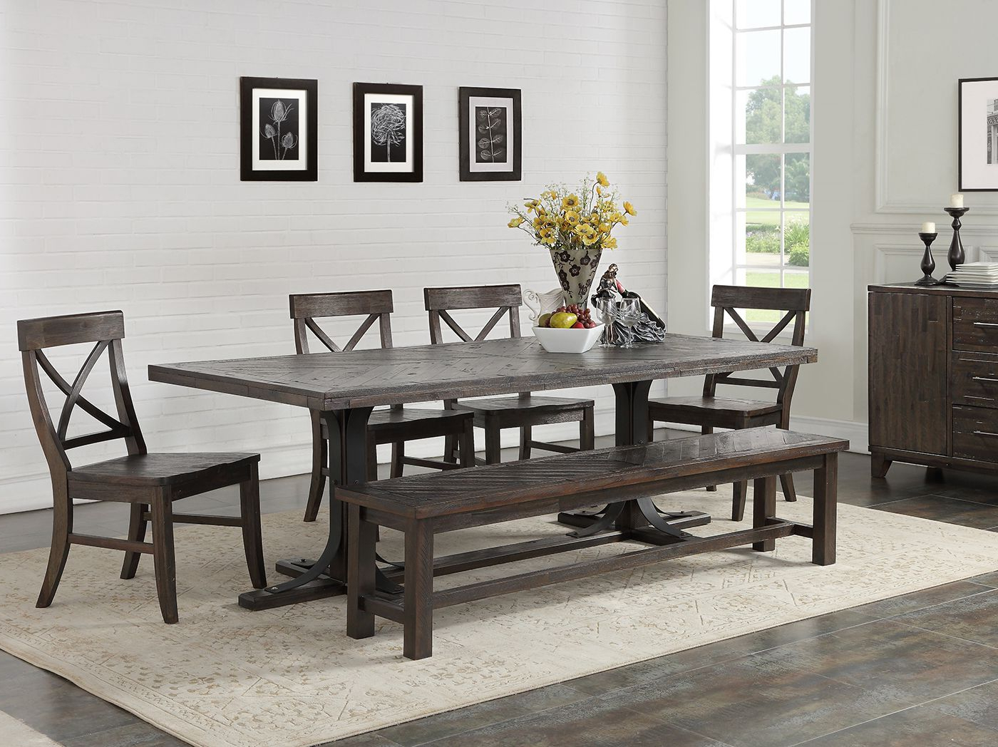 Aria 5 Piece Dining Sets Throughout Well Known Direct Designs® Aria 5 Pc. Dining Set – The Direct Designs® Aria 5 (Gallery 4 of 20)