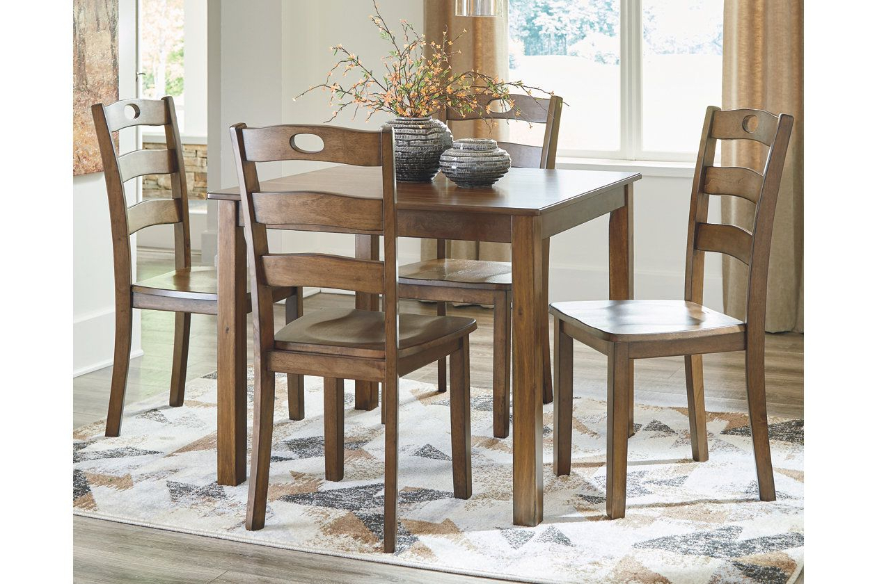 Ashley Furniture In Noyes 5 Piece Dining Sets (Gallery 18 of 20)