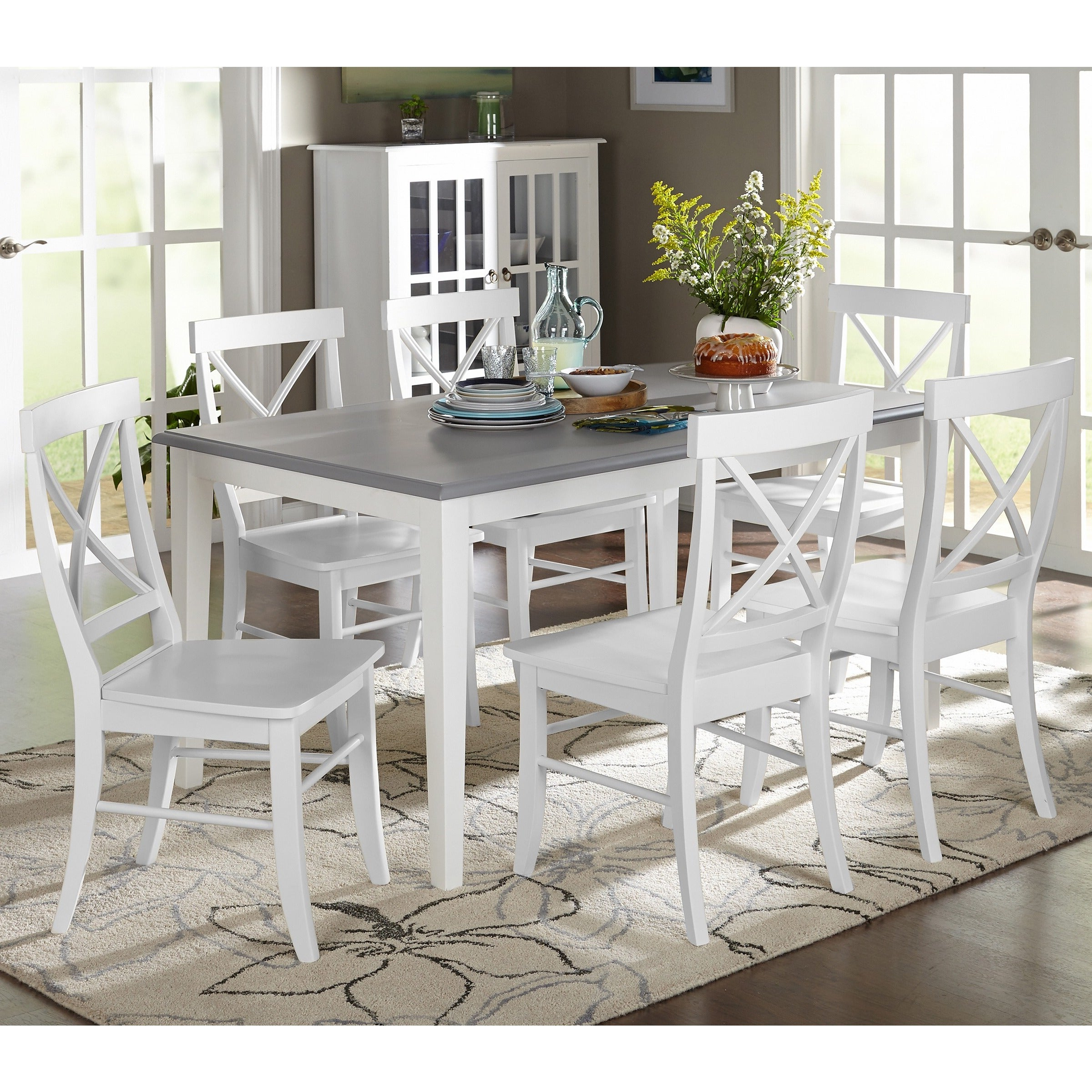 Autberry 5 Piece Dining Sets For Preferred Buy 7 Piece Sets Kitchen & Dining Room Sets Online At Overstock (View 3 of 20)