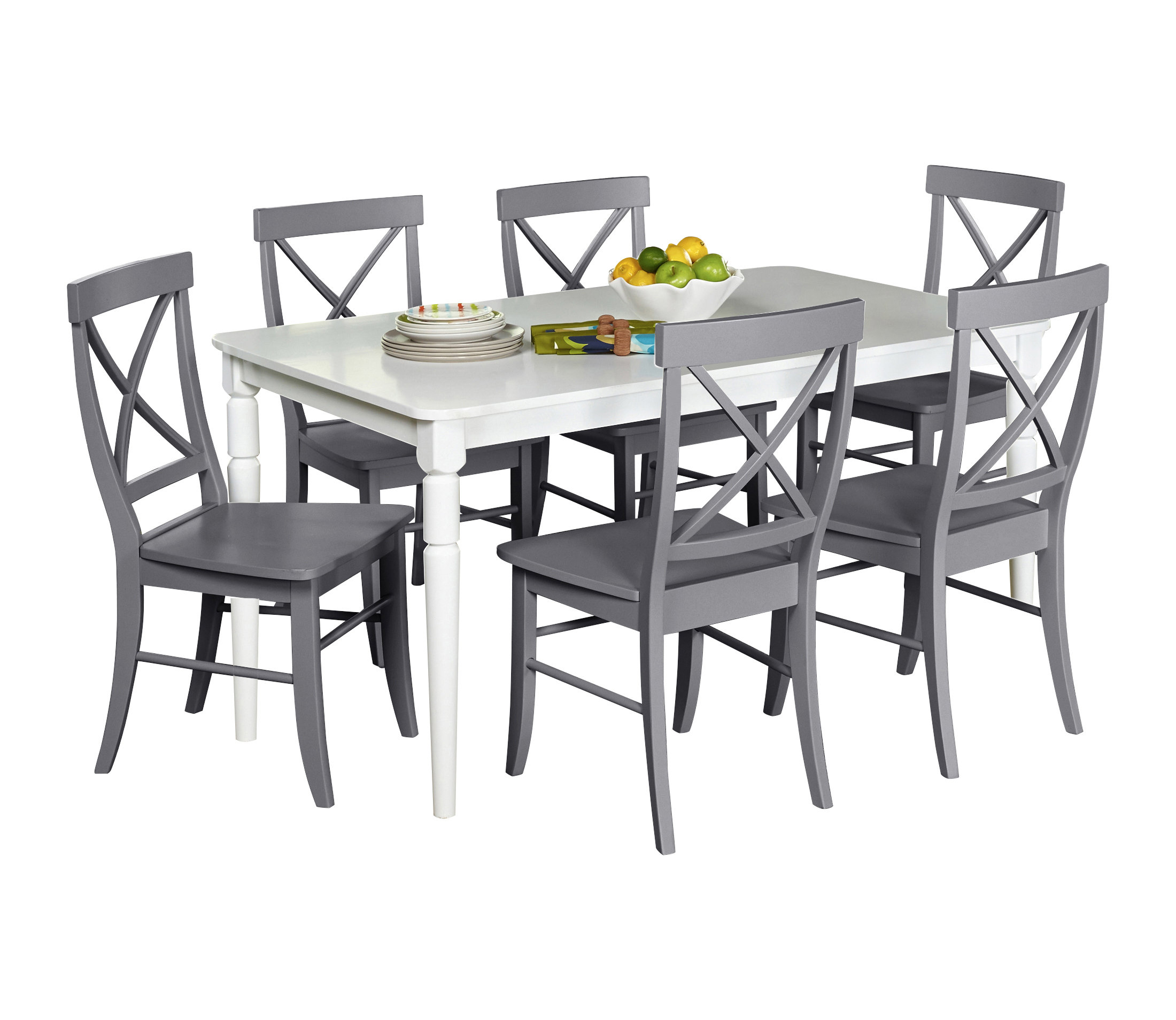 Beachcrest Home Brookwood 7 Piece Dining Set Regarding Well Known Baxton Studio Keitaro 5 Piece Dining Sets (Gallery 12 of 20)