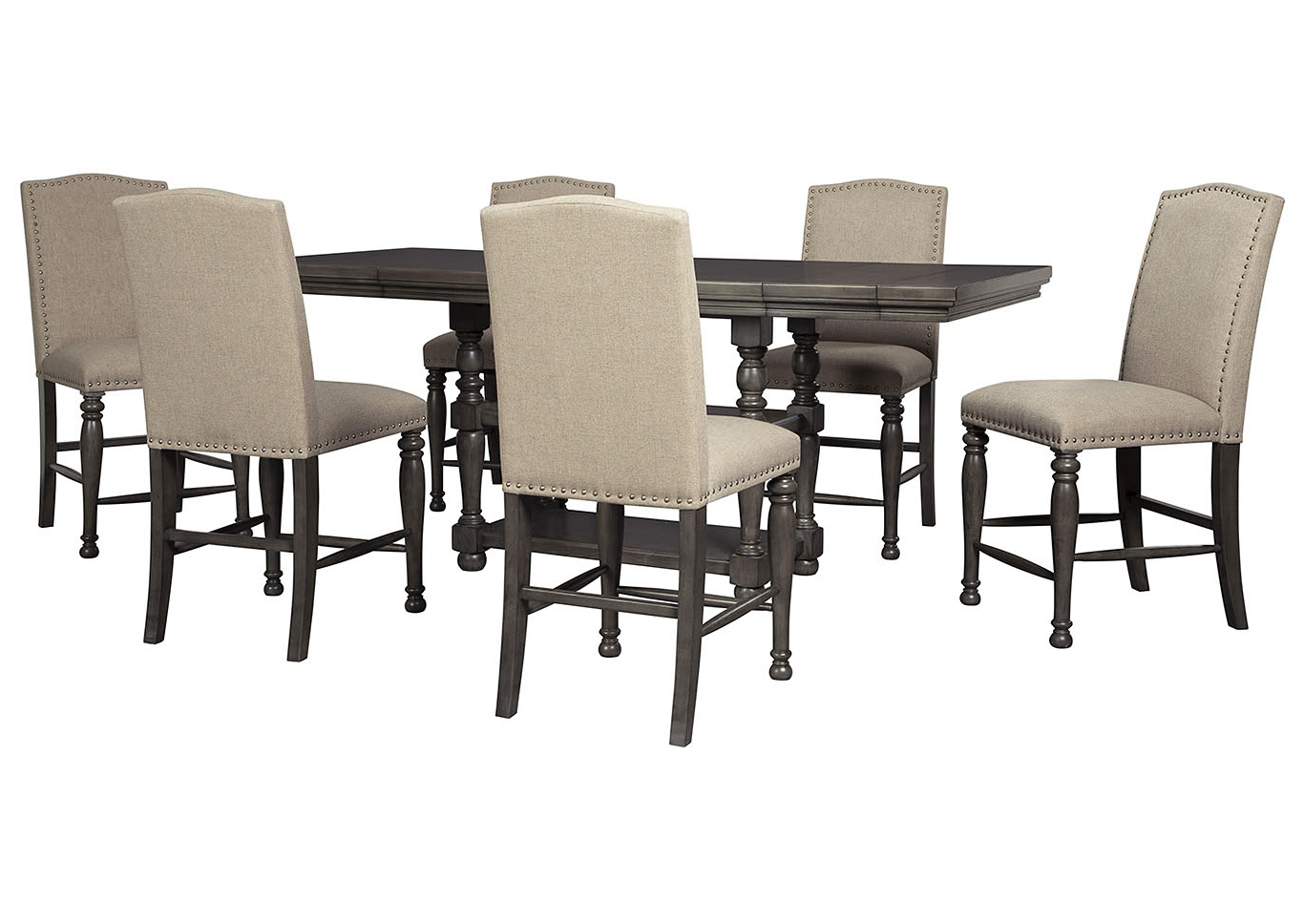 Berrios 3 Piece Counter Height Dining Sets With Regard To 2017 Ashley Furniture Homestore – Independently Owned And Operated (Gallery 5 of 20)